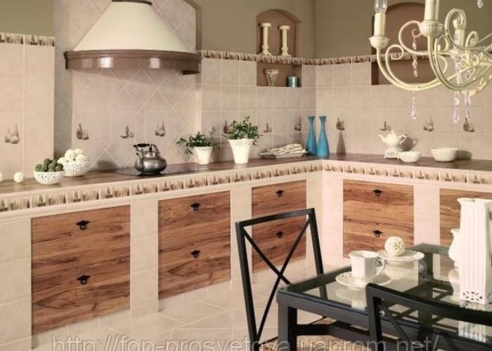 Кухня своими руками из кирпичей