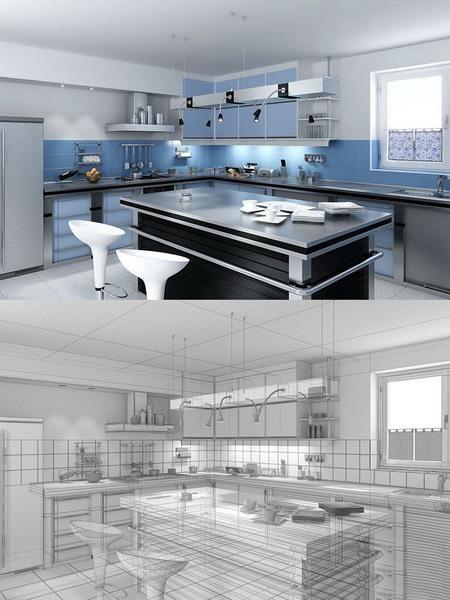 Дизайн кухни с газовым
